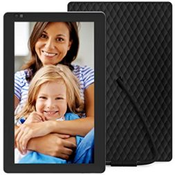 Nixplay Seed 10.1 inch Widescreen Digital WiFi Photo Frame with Alexa Integration and iOS/Android mobile app - Black (W10B)