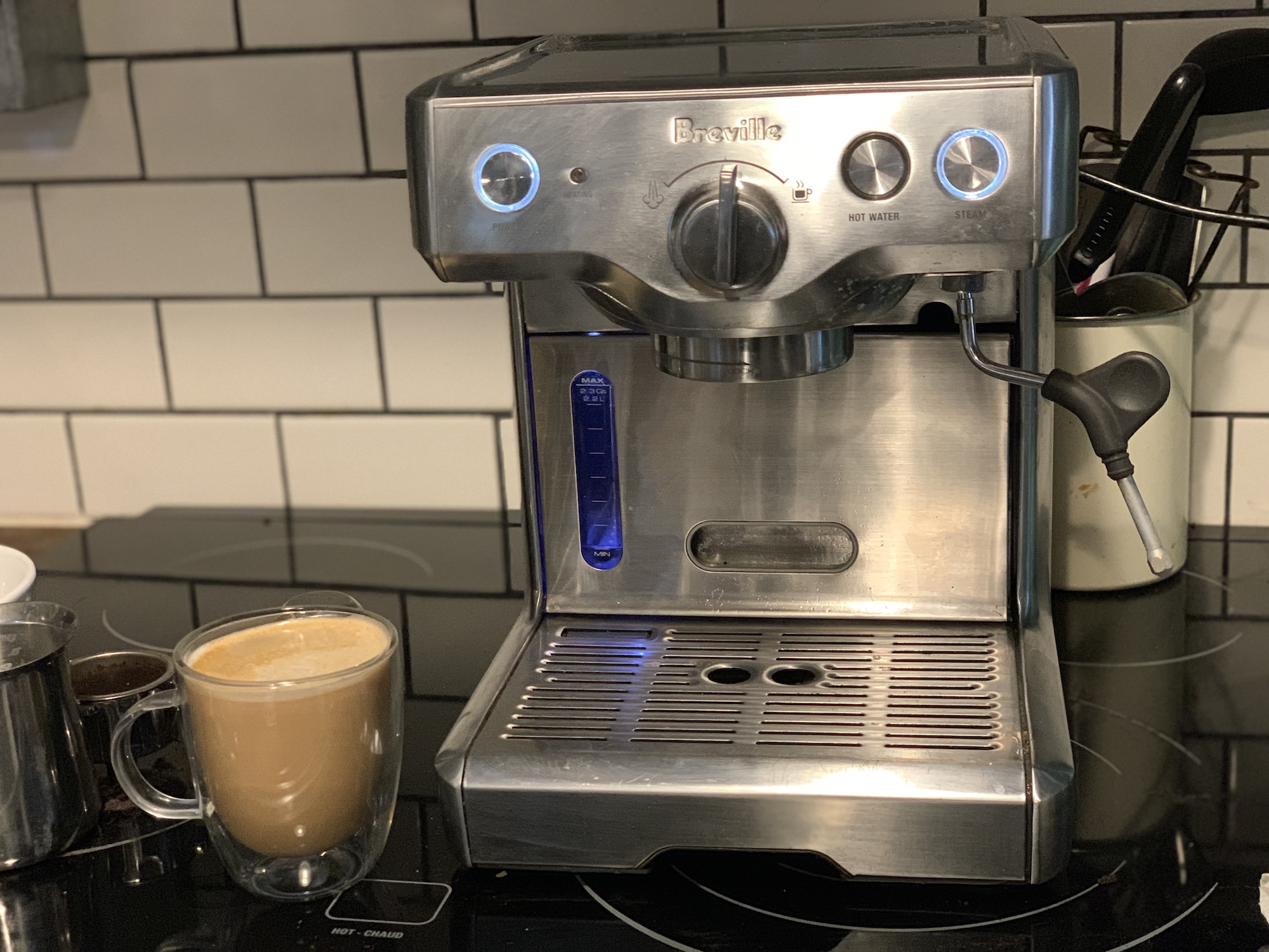 Breville duo temp lattes