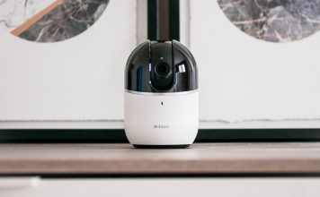 D-Link Wi-Fi Indoor 720p HD Pan & Tilt IP Camera