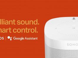 Google, Sonos, announcement, voice control, canada