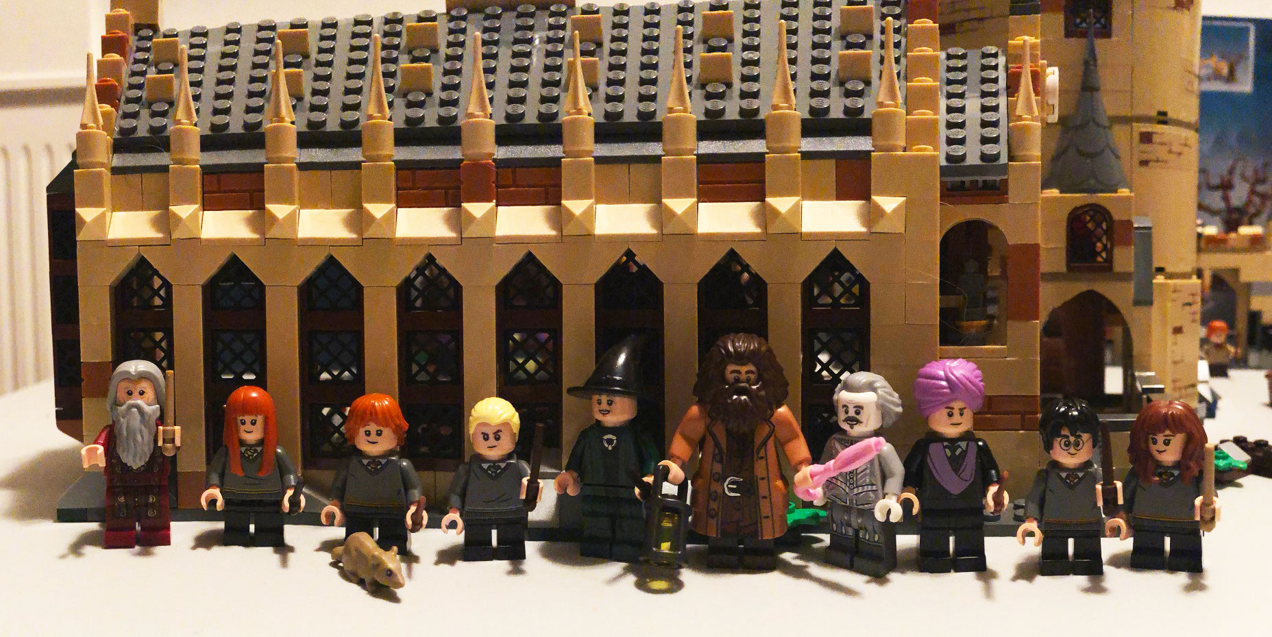 Review Of Lego Harry Potter Great Hall Whomping Willow Best
