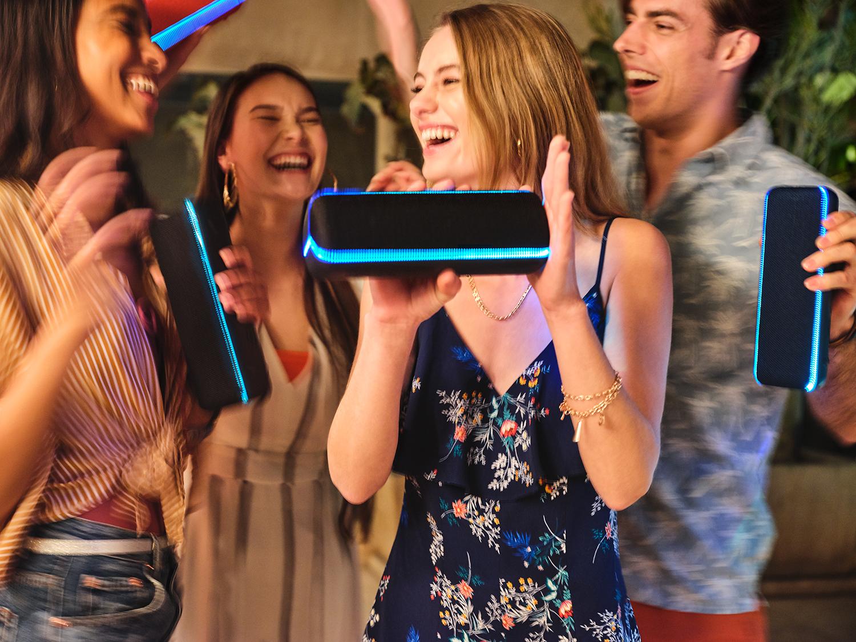 Haut-parleur sans fil Bluetooth antiéclaboussures XB32 EXTRA BASS de Sony - Exclusivité chez Best Buy