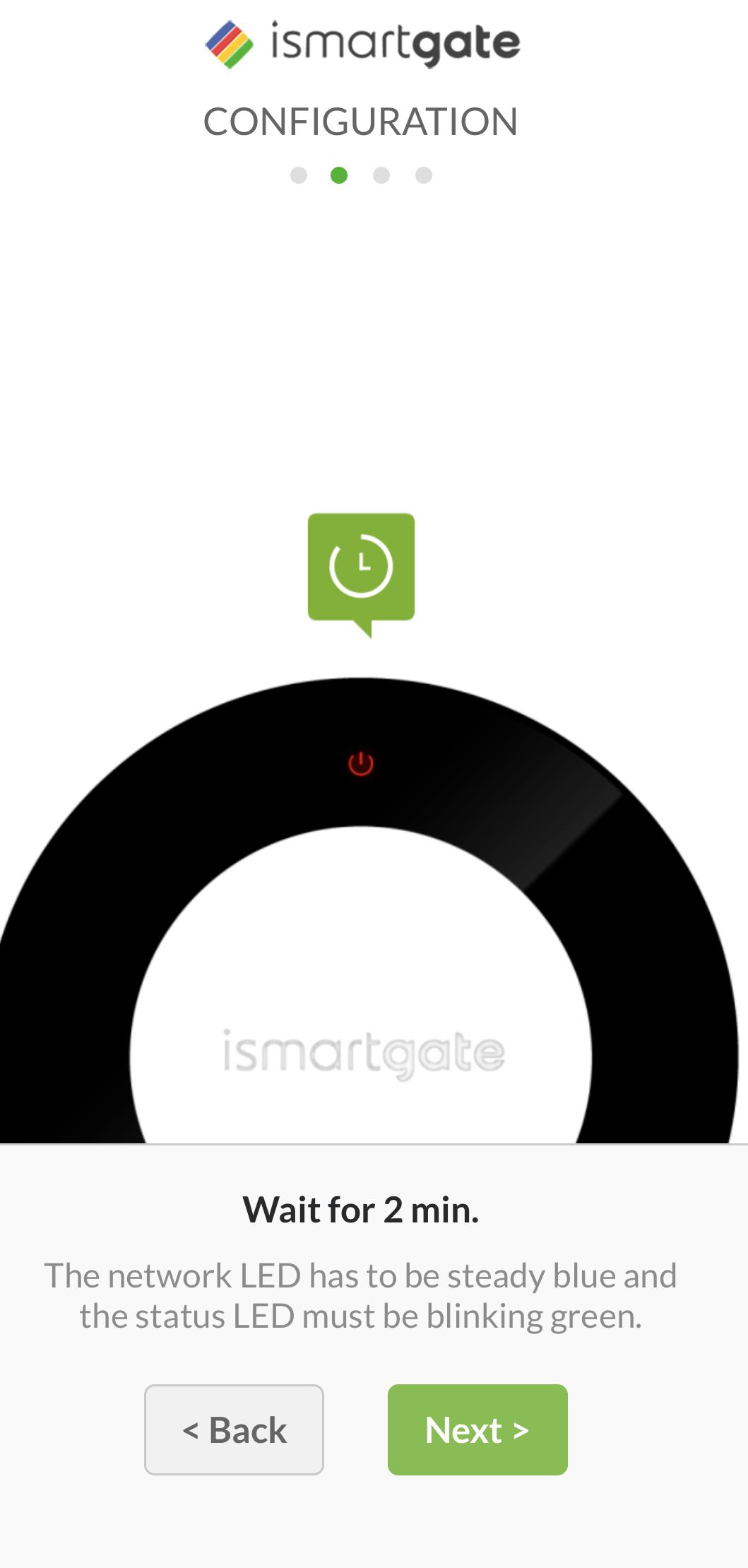 ismartgate LITE config
