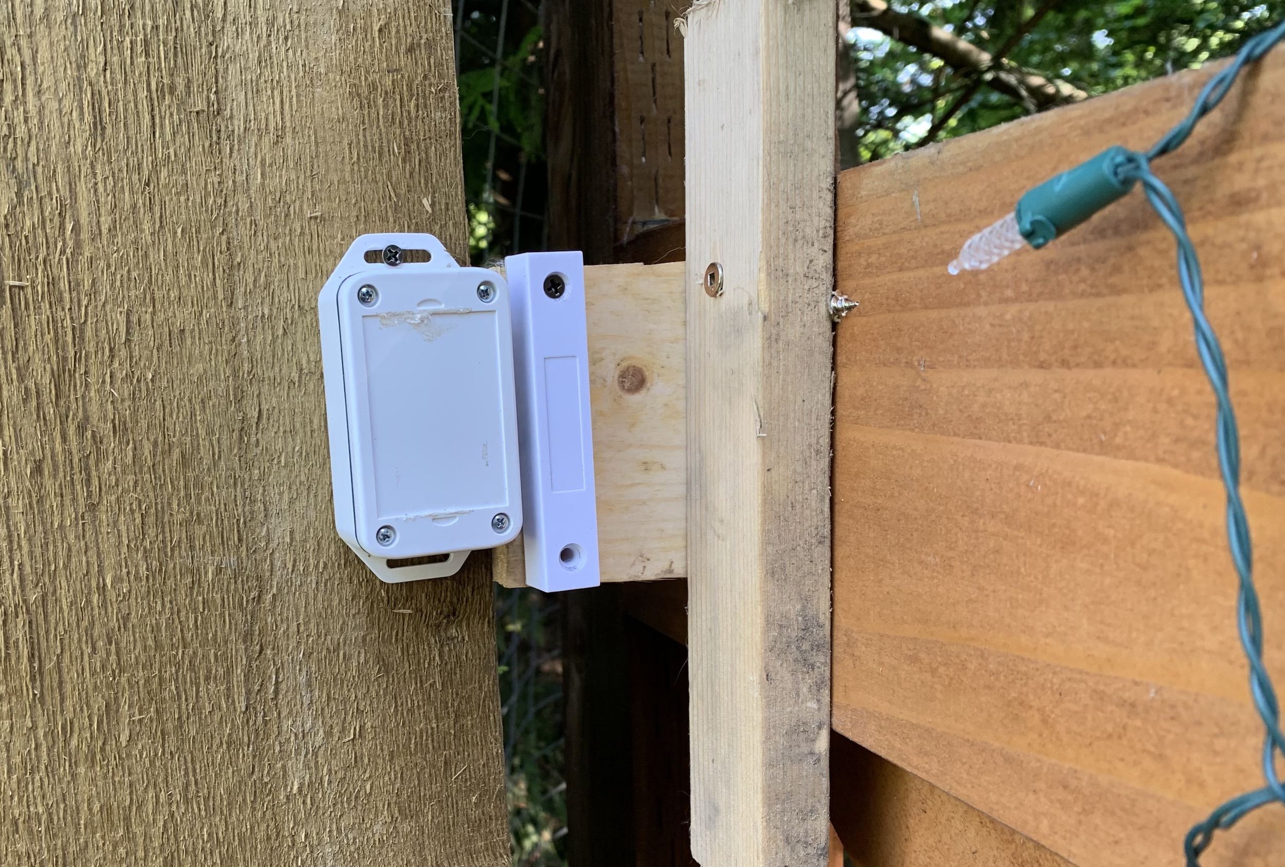 ismartgate sensor placement