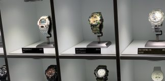 G-Shock watches from over the years