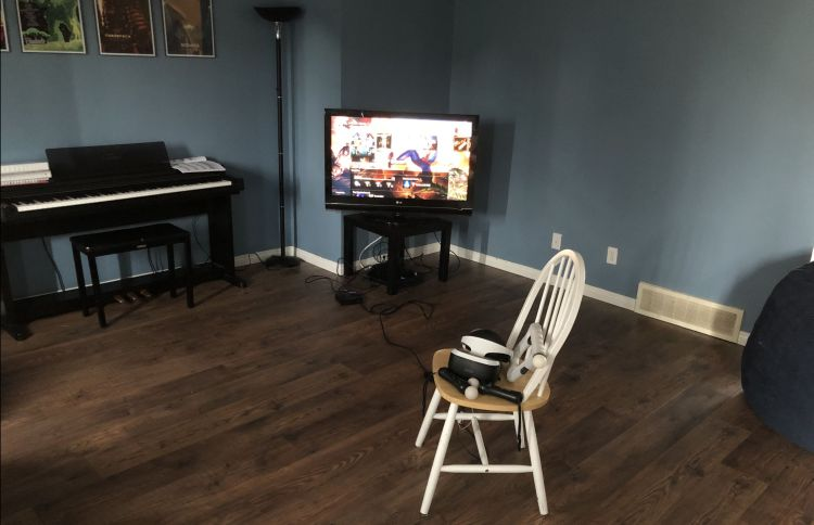 perfect gaming space
