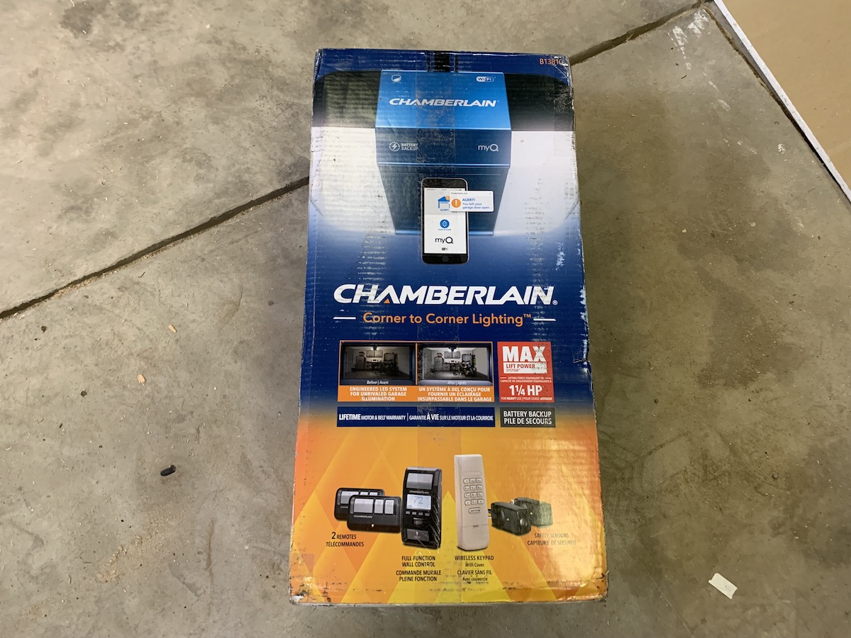 Installing A Chamberlain Wi Fi Garage Door Opener For Convenience