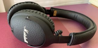 marshall bluetooth, headphones, review, monitor