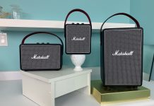 marshall, tufton, kilburn, stockwell, bluetooth, speakers, review