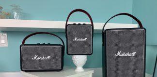 marshall, tufton, kilburn, stockwell, bluetooth, speakers, review