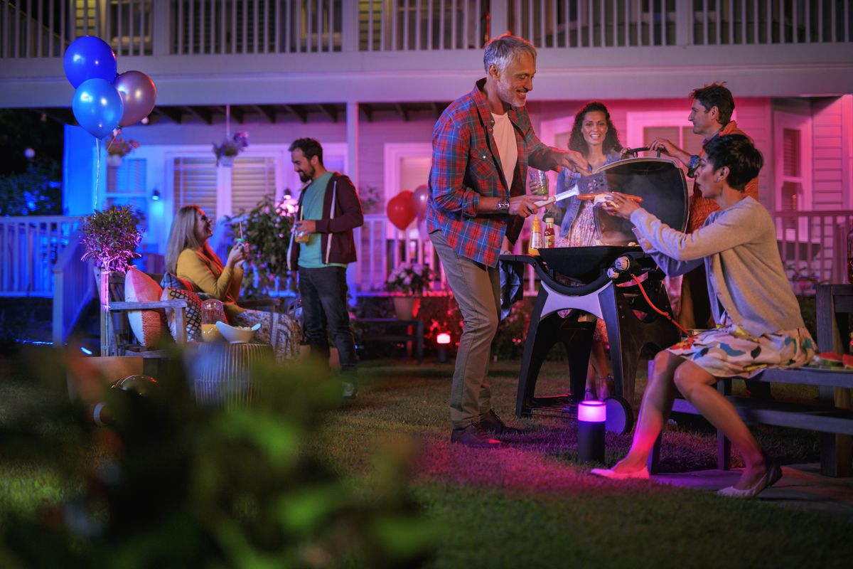 Philips Hue outdoor lights improve security