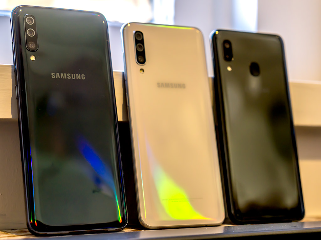 Announcing The New Samsung Galaxy A Smartphones The A20 A50 And A70 Best Buy Blog