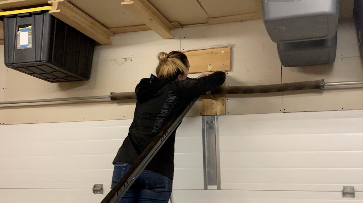 Chamberlain garage door, wifi, smart, phone, review