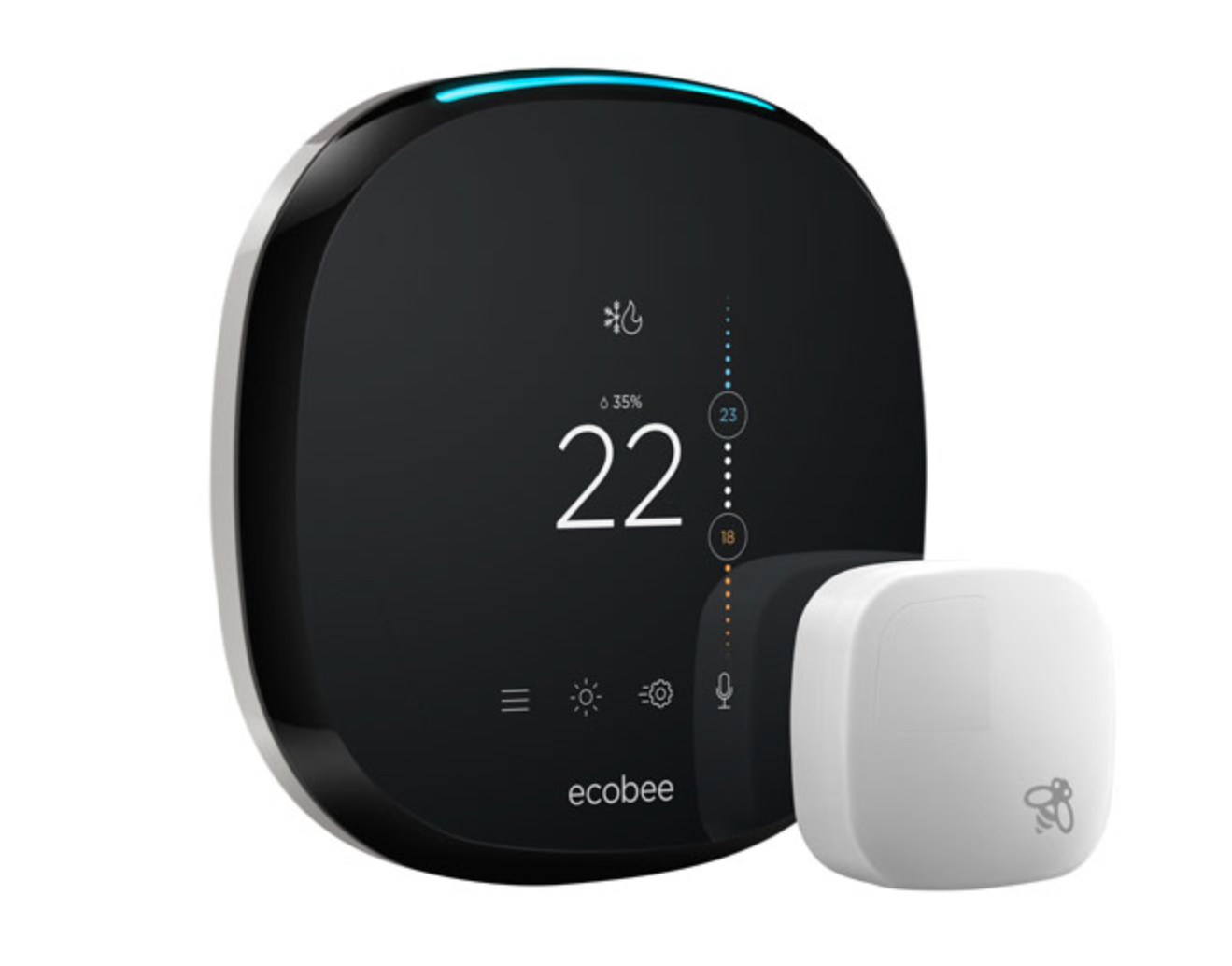 moving day - ecobee smart thermostat