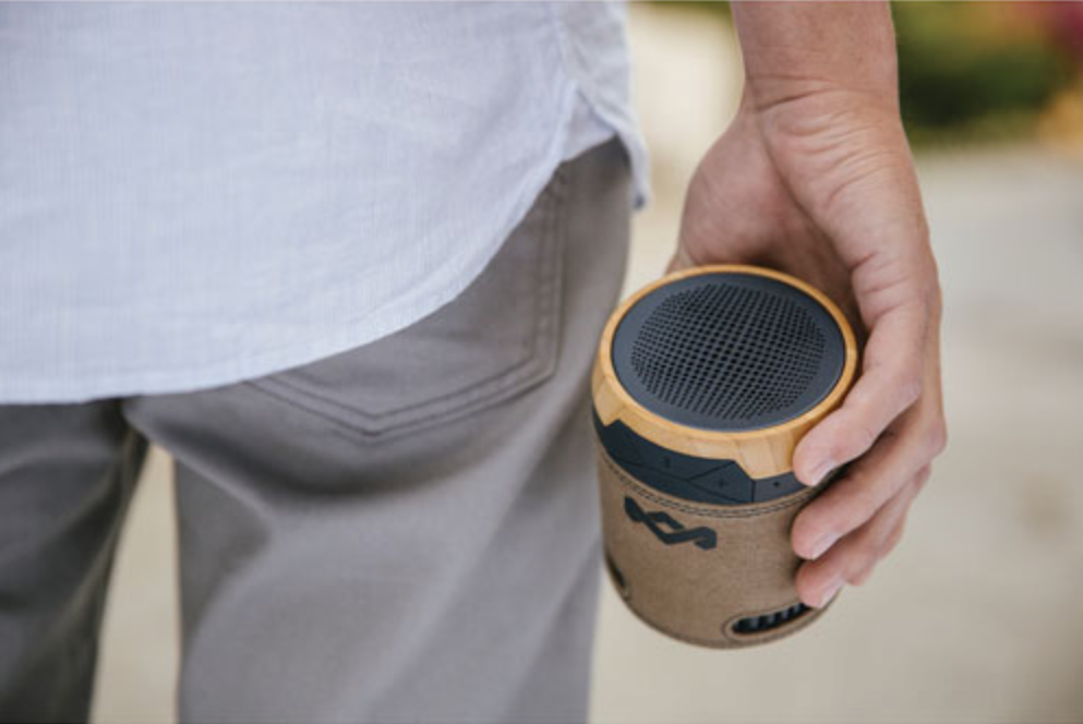 portable bluetooth speaker buying guide - house of marley chant portable bluetooth speaker lifestyle