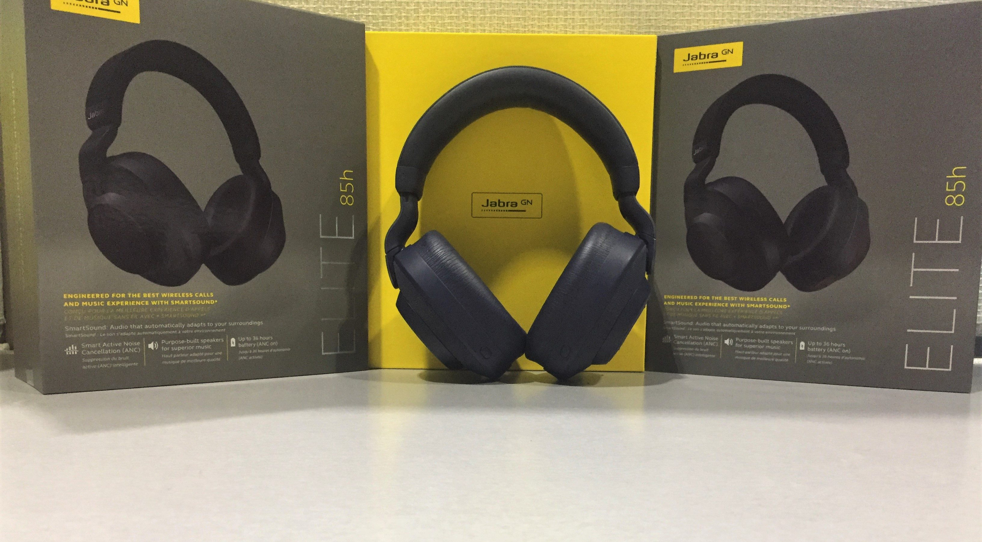 Jabra Elite 85h Noise Cancelling headphones