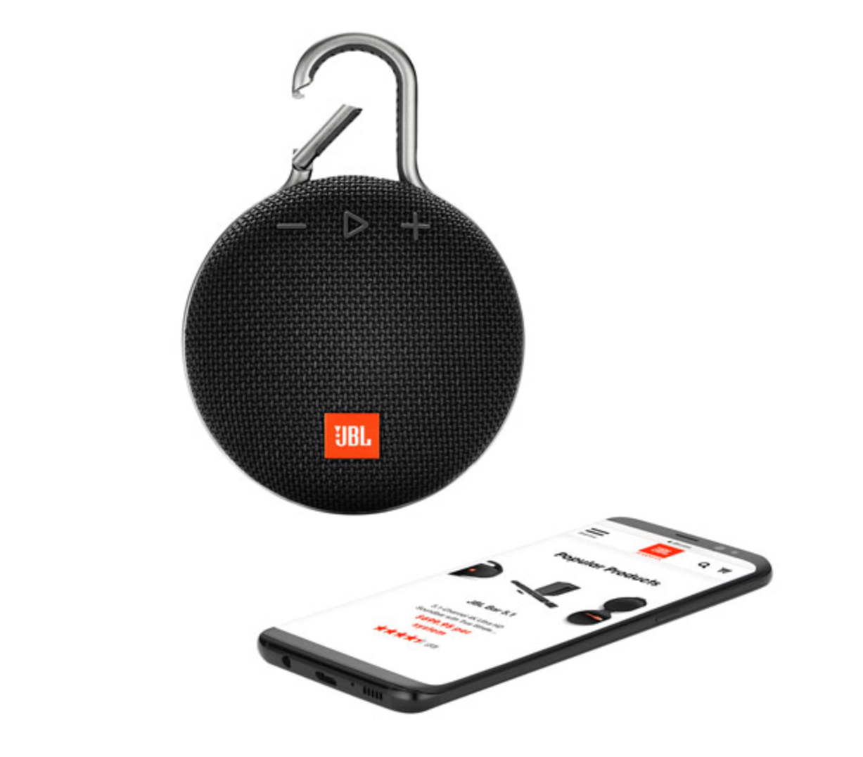 portable bluetooth speakers buying guide - jbl portable bluetooth speaker with clip and app