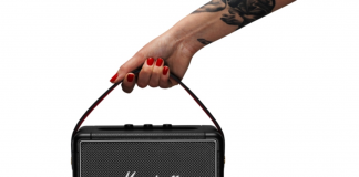 portable bluetooth speakers buying guide - marshall portable bluetooth speaker with strap