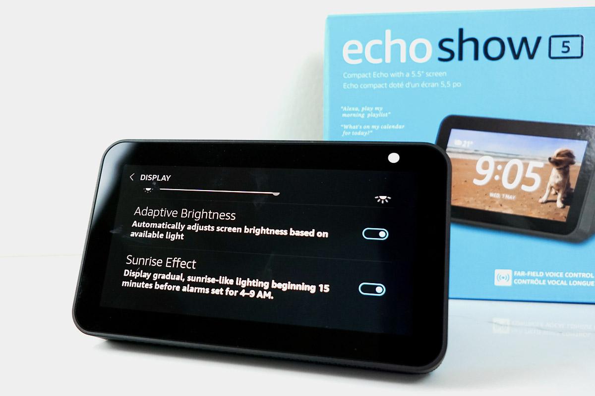 Amazon Echo Show 5 vs echo show