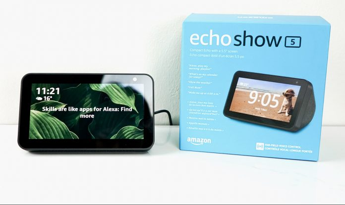 Amazon Echo Show 5 what's in the box