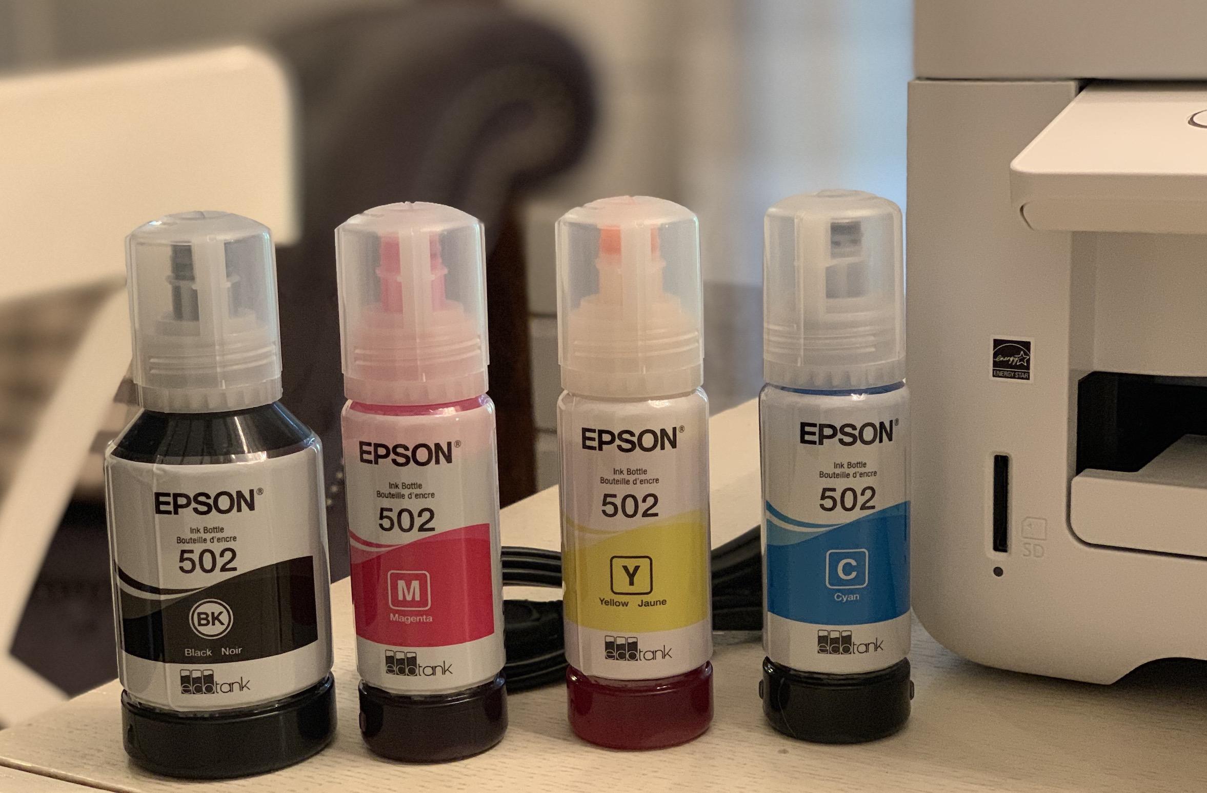 Epson EcoTank ET-2760 Supertank Inkjet Printer Review