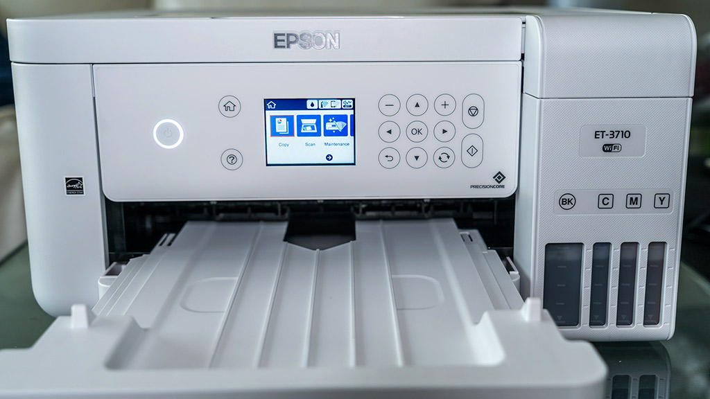 Epson EcoTank ET-3710 printer review