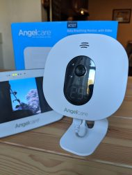 Angelcare Baby Breathing and Video Baby Monitor nursery unit