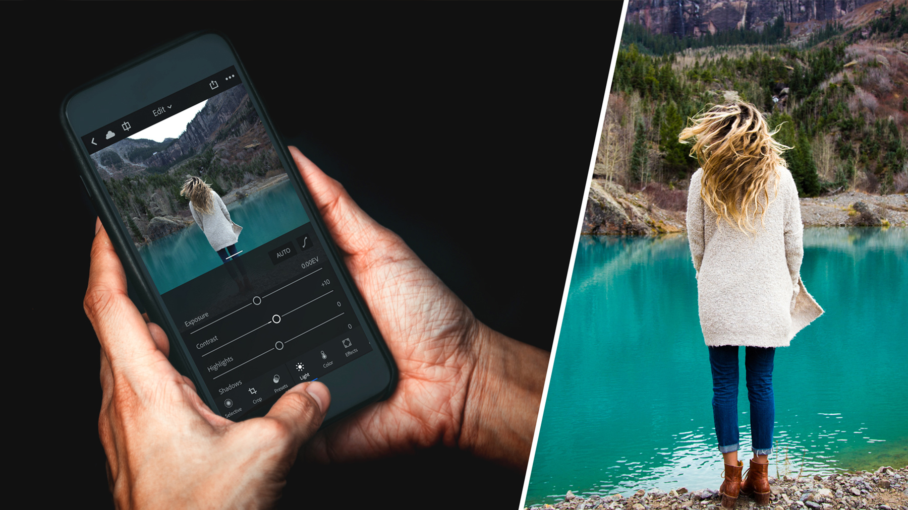 How to master mobile photo editing for your DSLR photos