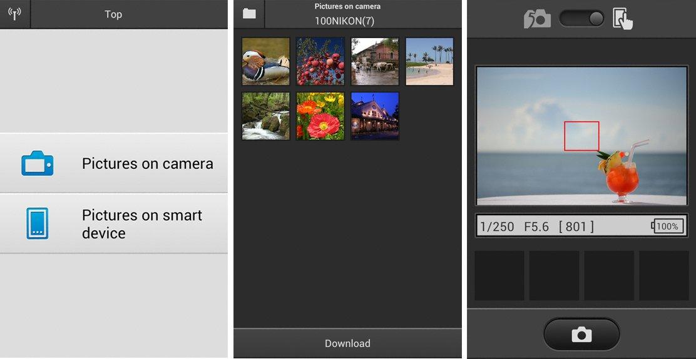 Nikon wireless camera app