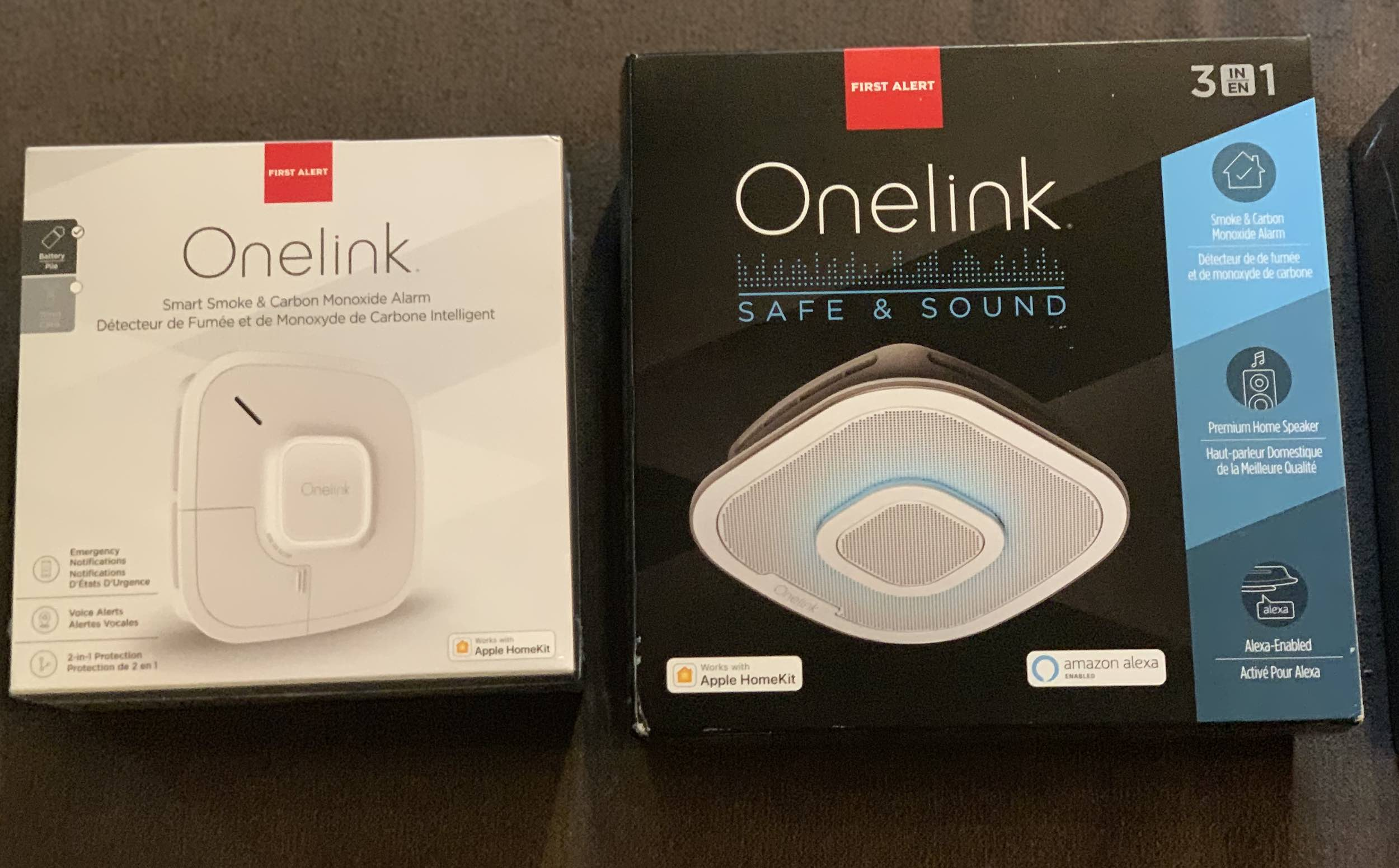 OneLink Safe and Sound smoke detectors