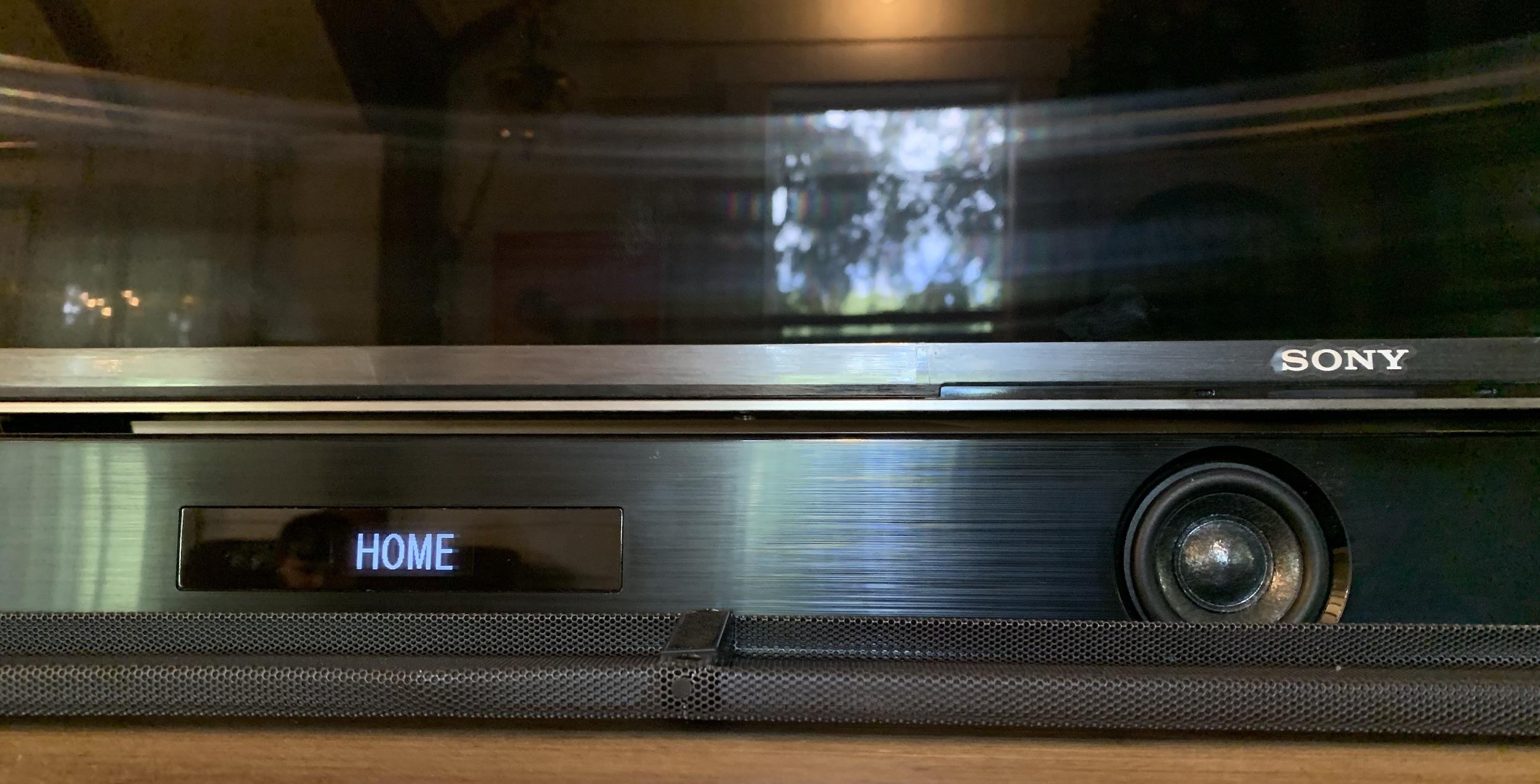 Sony X950G 4K HDR LED TV with Sony HTZ9F Soundbar