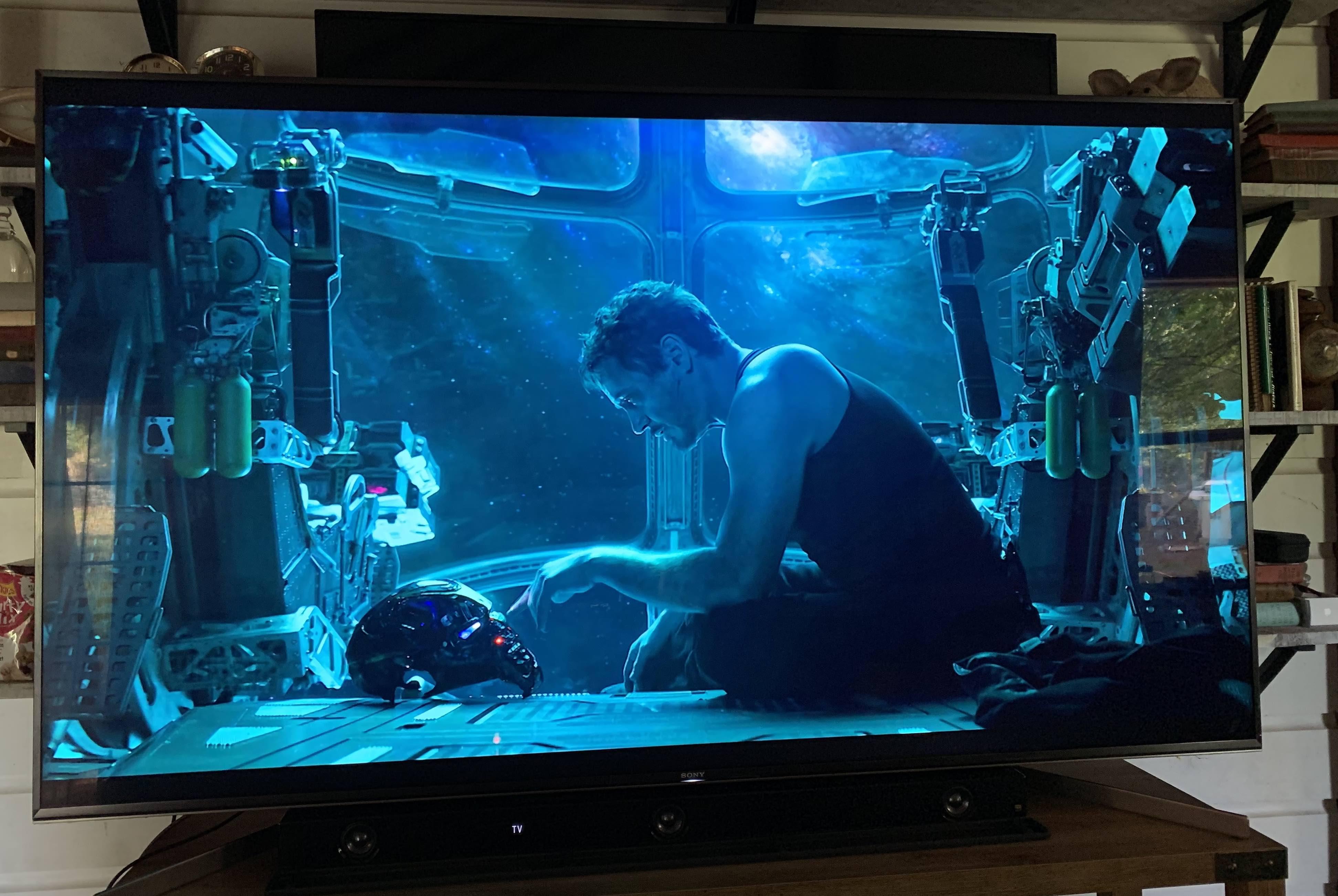 The 75 inch Sony X950G 4K HDR LED TV and Sony HTZ9F soundbar copy