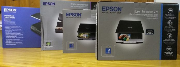 Epson Perfection scanners