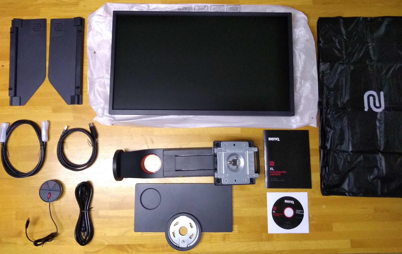 BenQ Zowie XL2546 unbox