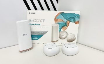 D-Link whole home mesh wi-fi package wtih Covr points