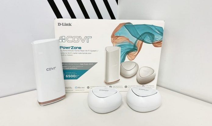 D-Link COVR mesh networking router contest at Best Buy