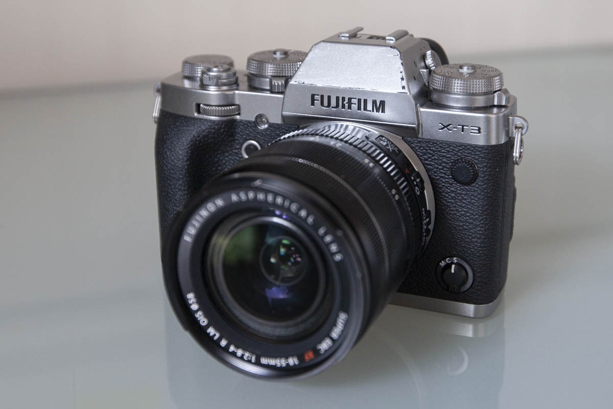 A photo of the Fujifilm XT-3