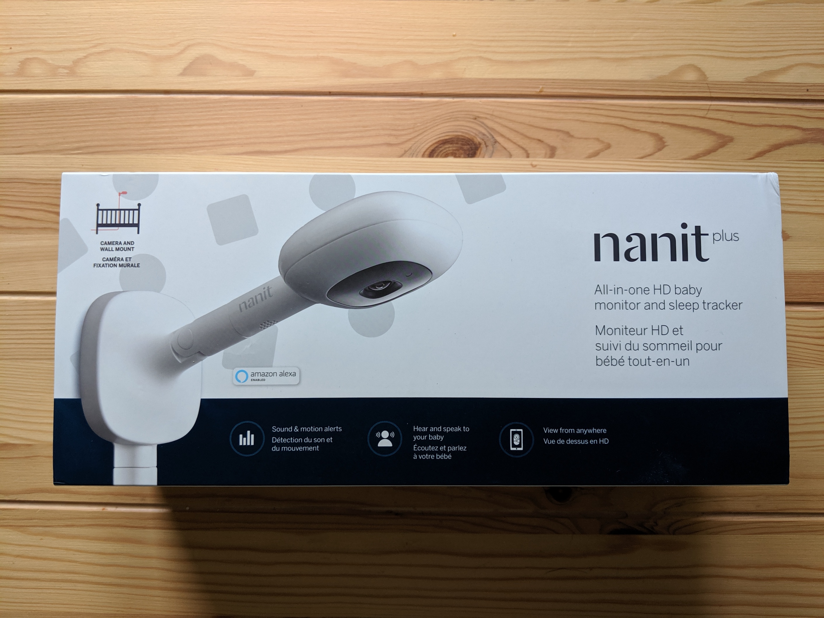 Nanit Plus Video Baby Monitor and Sleep Tracker