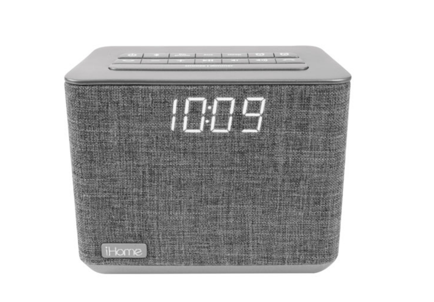 alarm clock with speaker