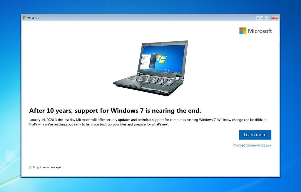 Everything you need to know about Microsoft ending Windows 7