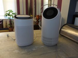 js flo and js vanguard air purifiers l