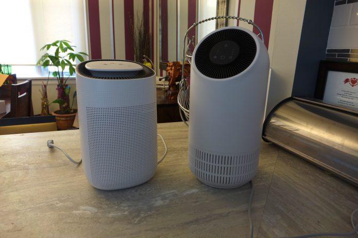 js flo and js vanguard air purifiers l