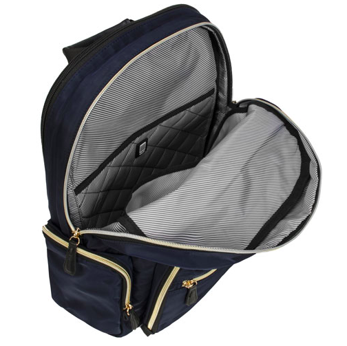 kenneth cole silky poly backpack