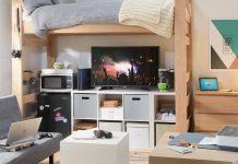 smart dorm room