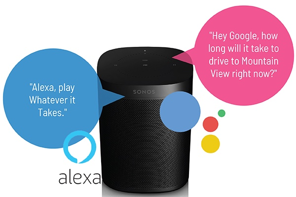 Sonos move, review, how to, google, alexa
