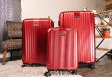 Champs Marquis luggage set review
