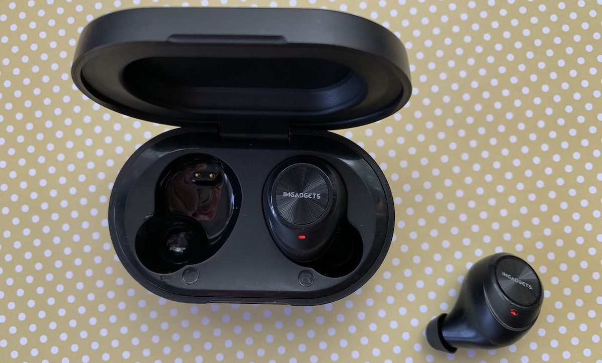 IMGadgets Wave, truly wireless earbuds, headphones, review