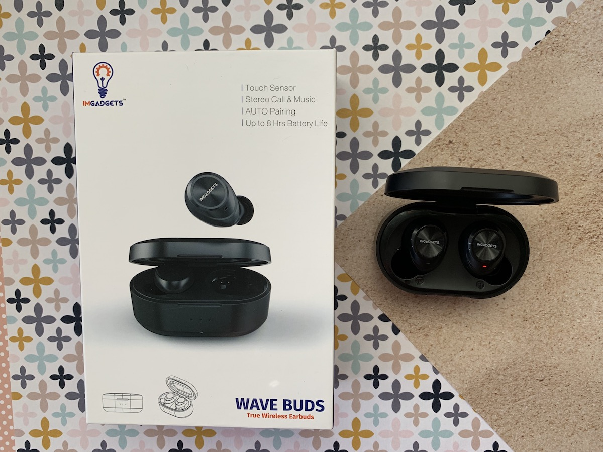 IMGadgets Wave truly wireless earbuds