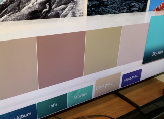 Samsung, 8K, review, Ambient mode