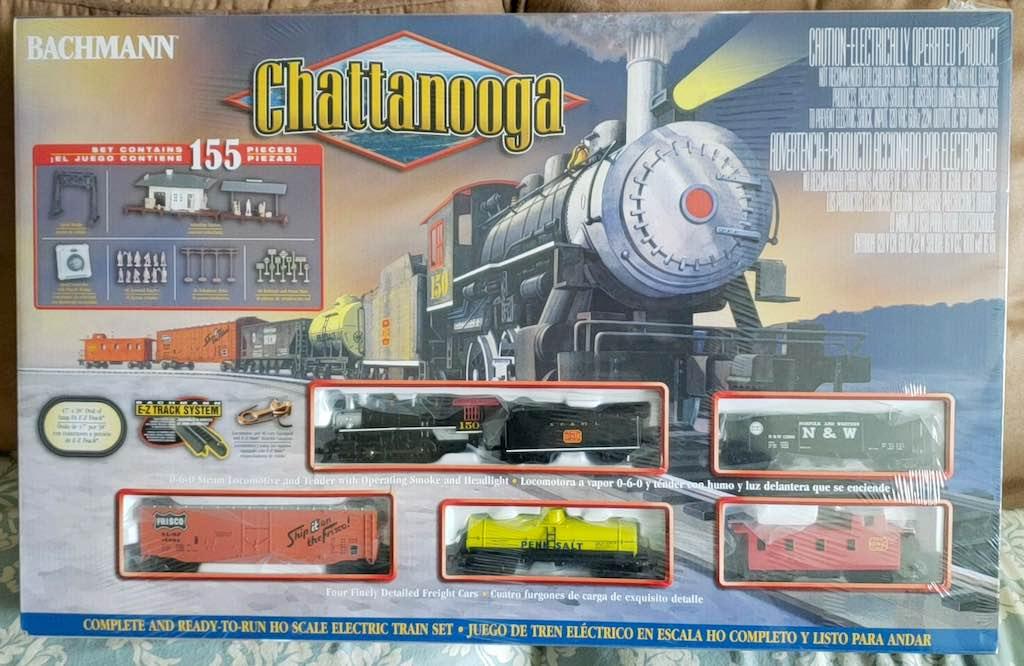 la boite de train électrique Chattanooga de Bachmann Trains